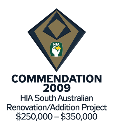 HIA 2009 Renovation/Addition Commendation