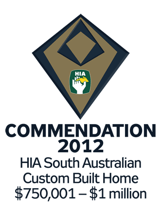 HIA 2012 Custom Built Commendation