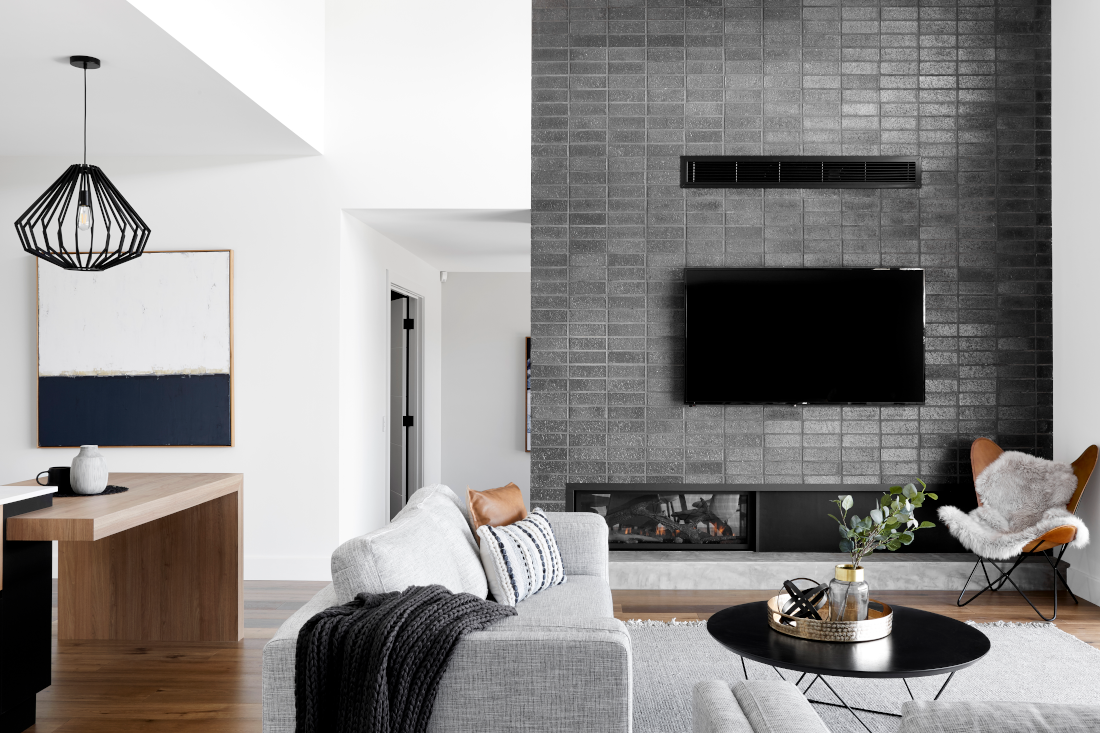 A modern living area in Newenham