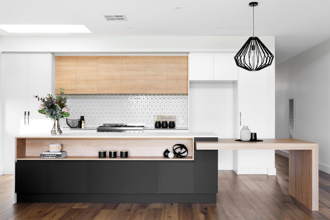 A modern kitchen in Newenham